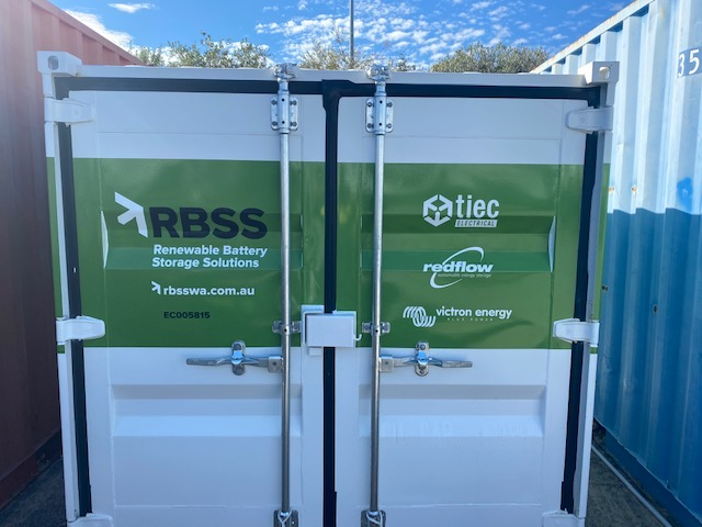 RBSS Power Cube signage install