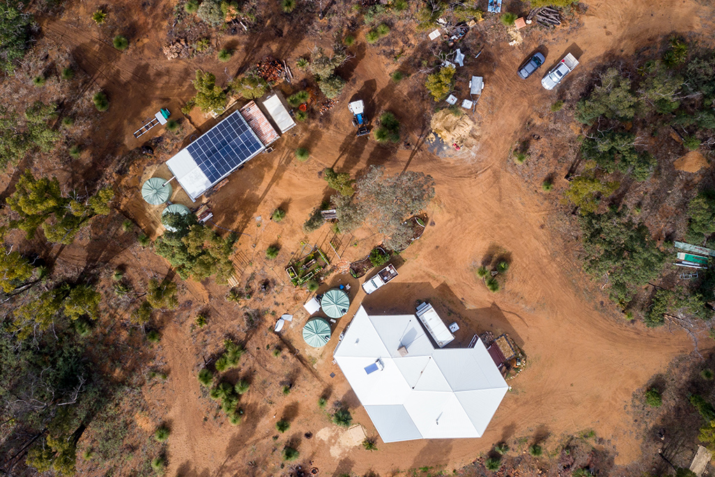 Rural off-grid solution in Quindanning