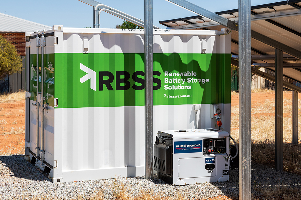 RBSS Power Cube and auto-backup diesel genset